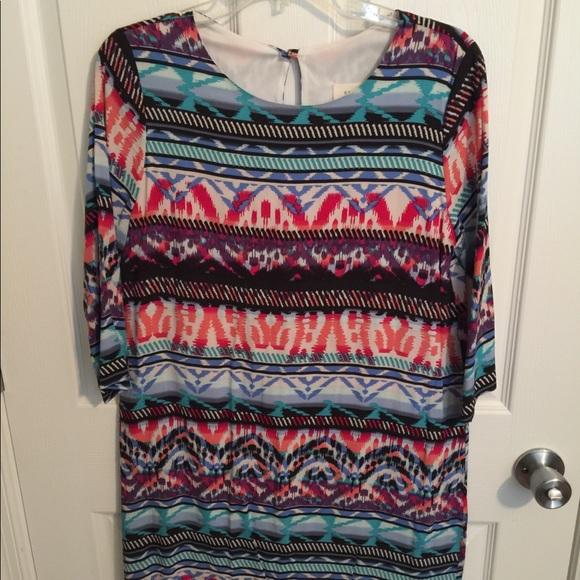 Eterna Dresses & Skirts - Aztec Print Dress